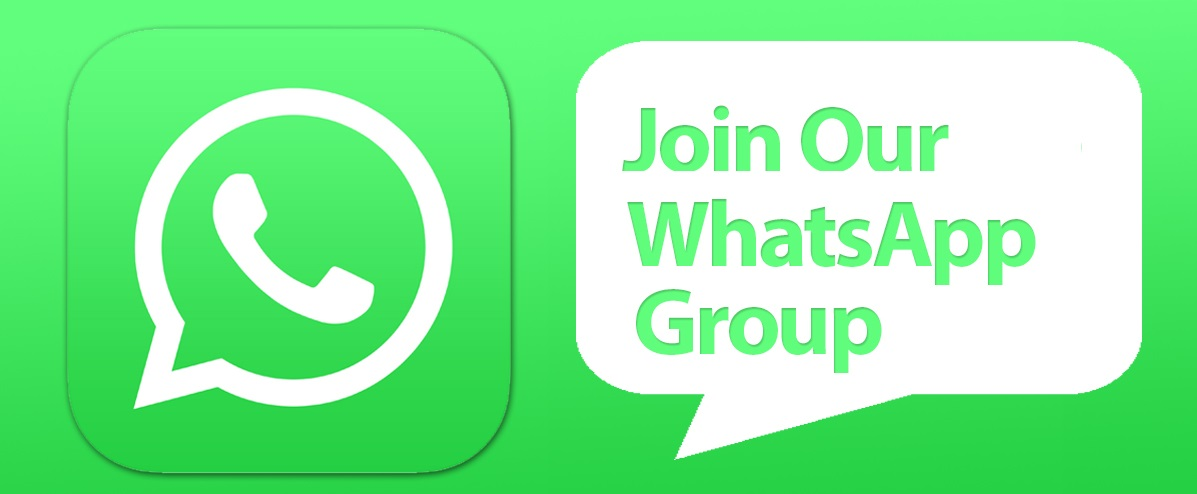 """Join our """"WhatsApp Group"""" for Announcements"""